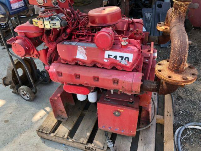 CAT Marine Diesel Engine 3208 1800 RPM non turbo