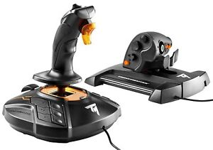 Thrustmaster T.16000M FCS Hotas Flight Stick and Throttle / BRAND NEW/ SHIPS NOW
