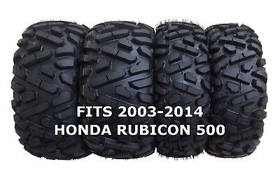 "Honda Foreman 500 MASSFX MS 25/""  ATV Tires 25x8-12 25x10-12 Set 4 2005-2014"