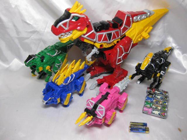 Power Rangers Dino cargo Kyoryuger DX kyoryujin Dino cargo Megazord 5 un. Set