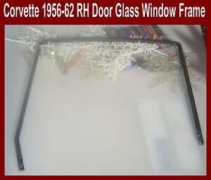 Corvette-1957-1958-1959-1960-1961-1962-Door-Glass-Stainless-Steel-Window-Frame-R