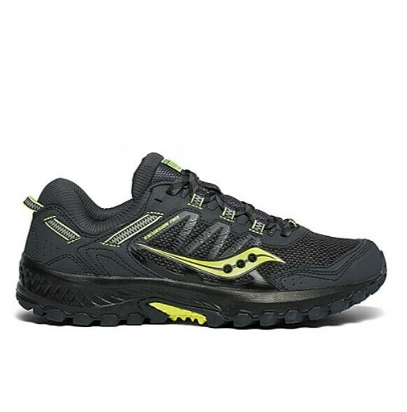 Saucony Mens Excursion TR13 Grey Black Trail Running Hiking shoes Size S20524-3