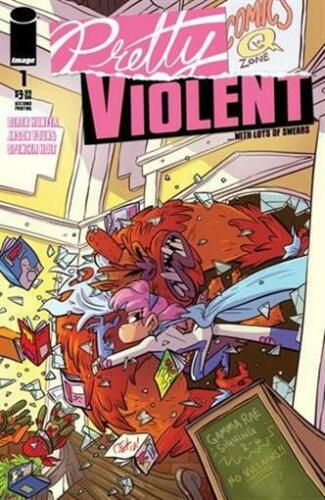 PRETTY VIOLENT #2 IMAGE COMICS NEAR MINT 9//25//19