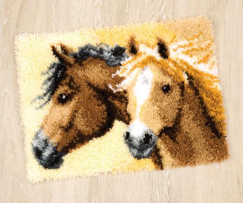 1x Kit de gancho de cierre caballos Alfombra Herramienta de Costura Artesanía Hobby Art UK 4834 filoro a granel