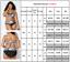 Übergröße Damen Zweiteiliger Bikini Bademode Badeanzug Hohe Taille Schwimmanzug