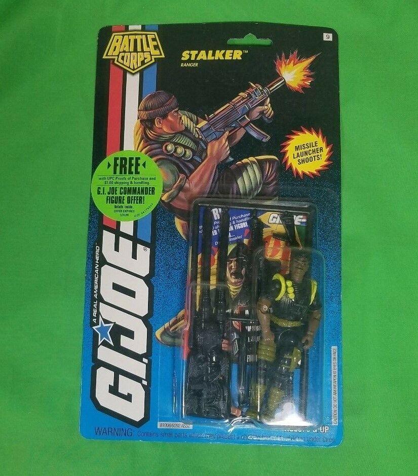 GI Joe Stalker Stalker Stalker Ranger Battle Corps SEALED Action Figure ARAH Hasbro MOSC MOC 068090