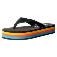 ab0cac2fd0c9 item 2 Womens Rocket Dog Cleo Webbing Stripe Wedge Flip Flops White Black  Stripe Size -Womens Rocket Dog Cleo Webbing Stripe Wedge Flip Flops White  Black ...