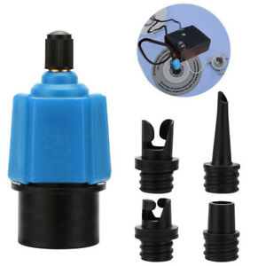 Sup Pump Adapter Inflatable Boat Air Valve Adaptor Paddle Board For Canoes Kayak