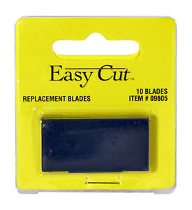 Easy-Cut-Safety-Box-Cutter-Knife-REPLACEMENT-BLADES-10-EA-PK-BEST-EBAY-PRICE