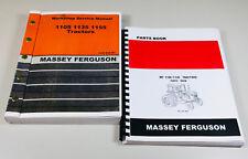 Mf Massey Ferguson 1105 1135 Tractor Service Manual Parts Catalog Set