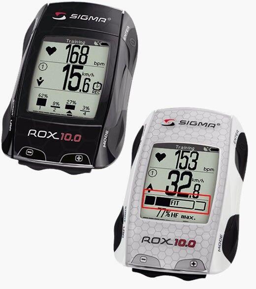 Sigma Rox 10.0 GPS Set bicicleta equipo velocímetro, Ant + frecuencia cardíaca velocidad