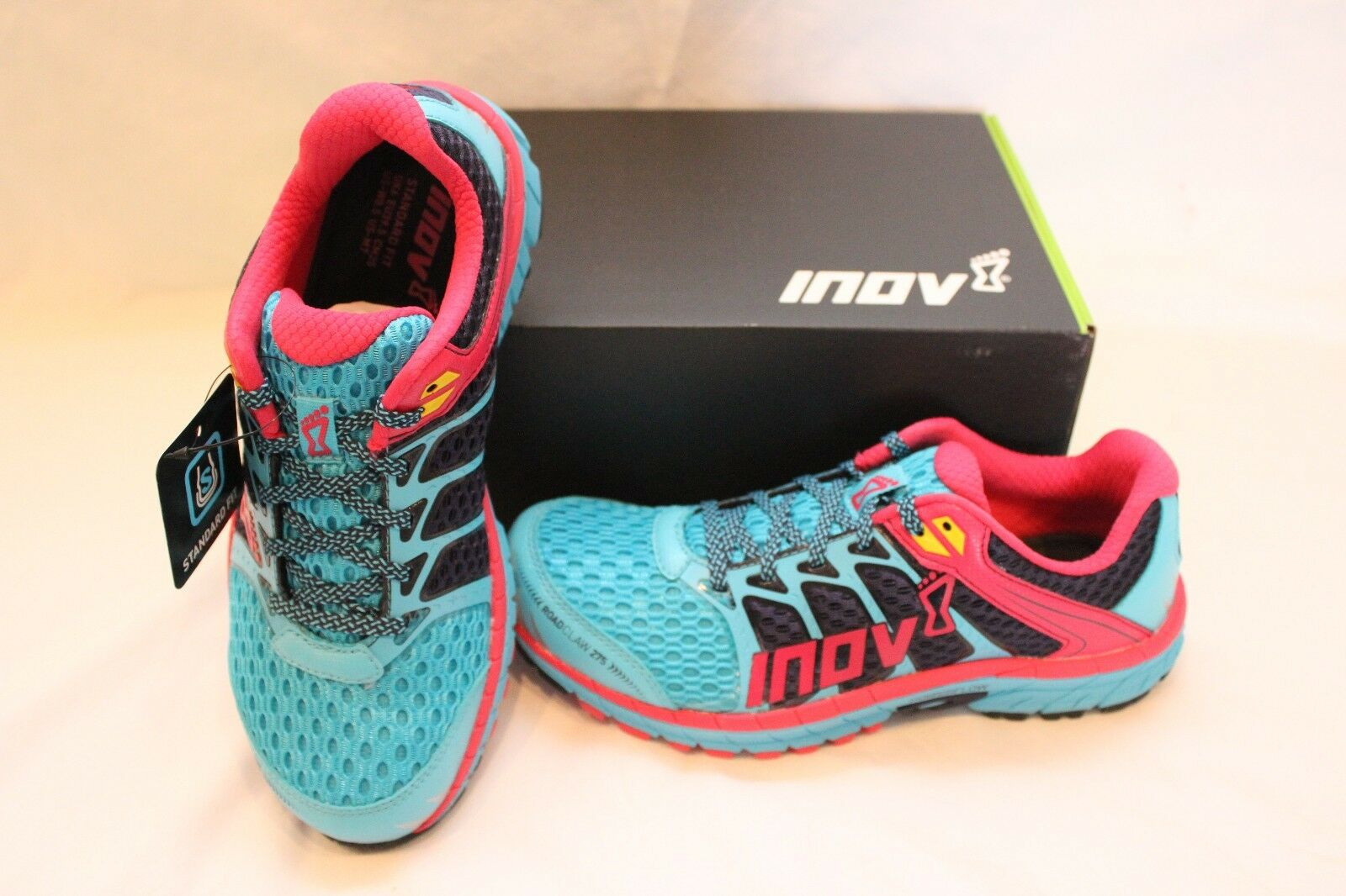 New Women's Inov-8 Roadclaw 275 Running shoes US 7 bluee  Training