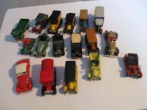 MATCHBOX-MODELS-OF-YESTERYEAR-Konvolut-17-Modelle