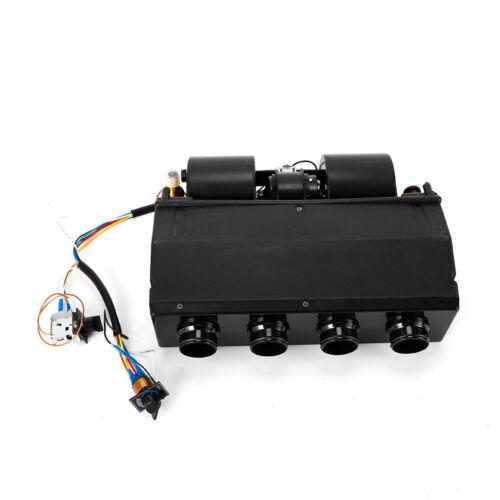 Universal nderdash AC Evaporator 4-Port  12V Heat /& Cool Unit Black
