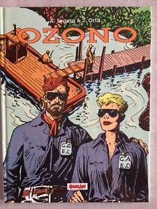 OZONO-A-SEGURA-amp-J-ORTIZ-COMIC-ART-1991-CARTONATO-a-COLORI-DOT