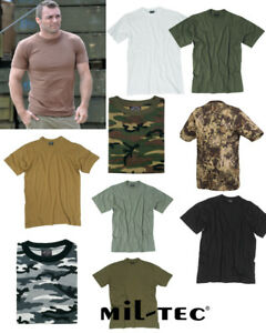 T-Shirt-Arbeit-Us-Style-100-Bw-Outdoor-uni-tarn-Sport-Armee-Militaer-Unterhemd