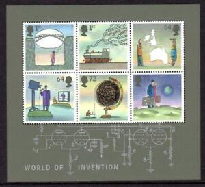 2007 GB WORLD OF INVENTION Miniature Sheet MS2727 MNH Unmounted Mint UMM