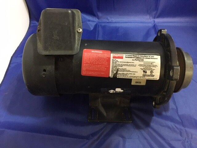 89acd0e3173 Dayton 4Z524B DC Motor 180 Volt 1 2 HP 86 RPM Permanent Magnet for sale  online