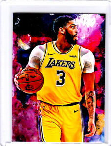 2021 Anthony Davis Los Angeles Lakers 1/1 Art ACEO Print Card By:Q