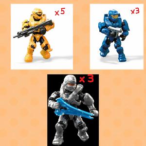 Mega-Construx-HALO-STORMBOUND-amp-NEW-DAWN-Series-Blind-Bag-Mini-Figure-LOT-of-11