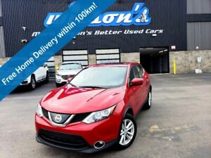 2018 Nissan Qashqai SV AWD - Sunroof, Reverse Camera, Heated Seats, Alloy Wheels, Cruise Control, New Tires and More!