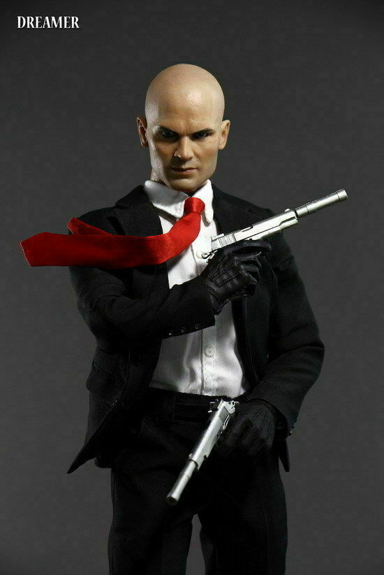1 6 Dreamer Hitman 47 Timothy Olyphant Male Action Figure Collectible Toy