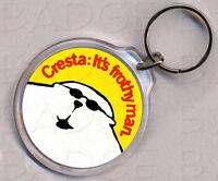 CRESTA BEAR round keyring  - IT'S FROTHY MAN!
