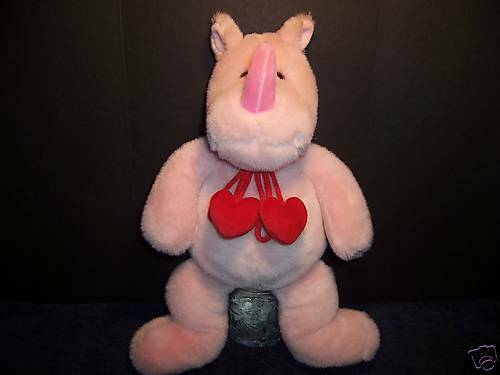 Gund Plush Heads & Tales Rhinoceros Stuffed Rhino Doll