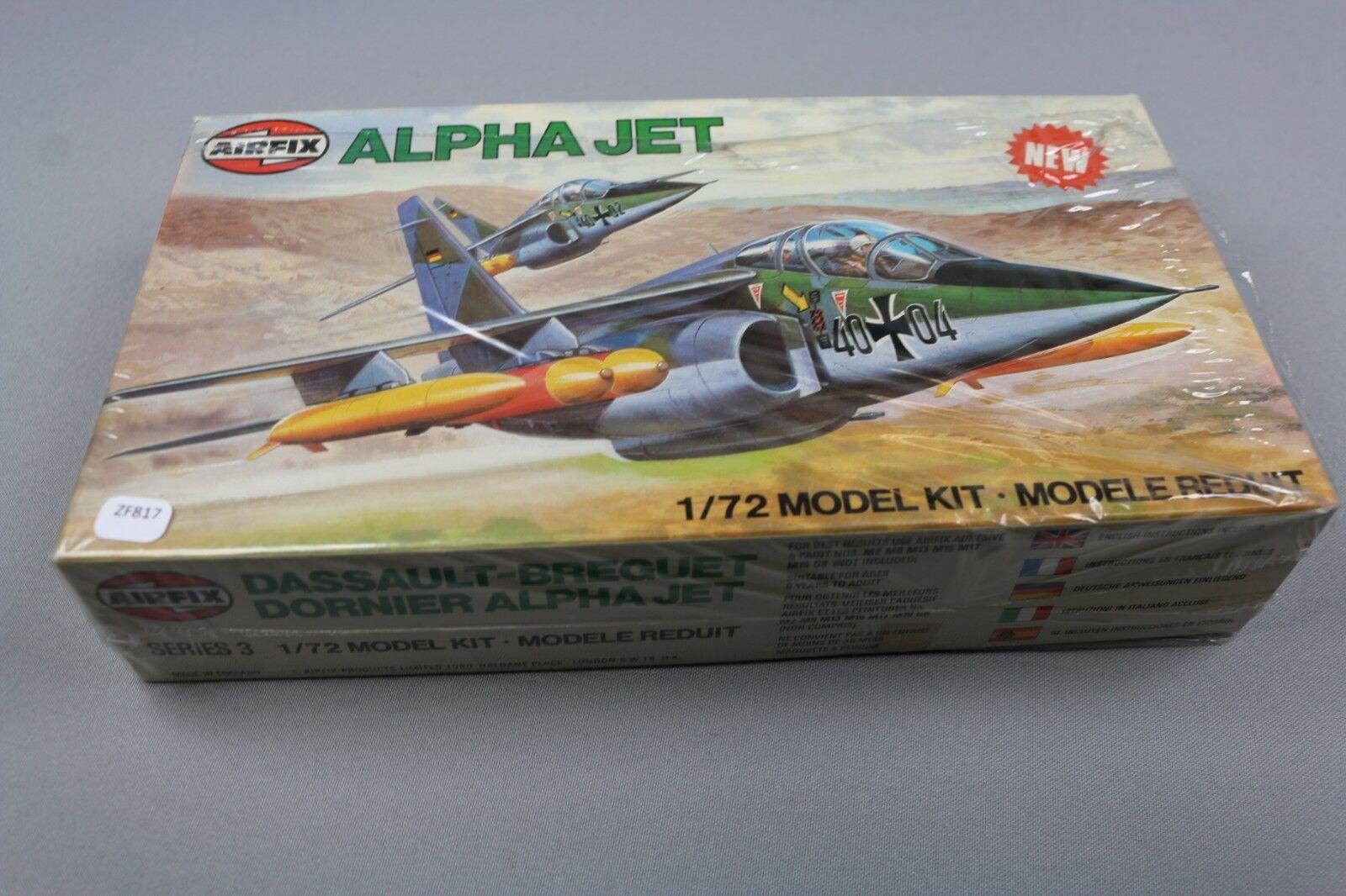 ZF817 Airfix 1 72 maquette avion militaire 03035-5 Dassault Dornier Alpha Jet