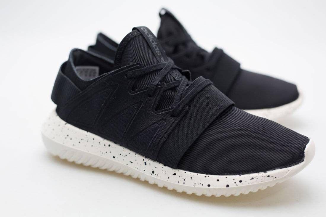 buy online a0623 8e6fe Adidas Originals tubular W mujer zapatos negro negro negro blanco viral  s75915 7 9.5 de 10