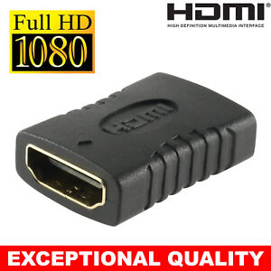2018 New HDMI EXTENDER FEMALE TO FEMALE F-F COUPLER ADAPTER CONNECTOR JOINER TV