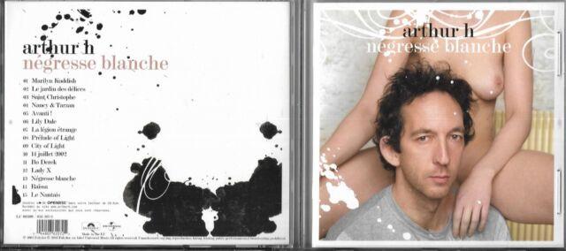 CD MULTIMÉDIA 15 TITRES ARTHUR H (HIGELIN) NÉGRESSE BLANCHE DE 2003