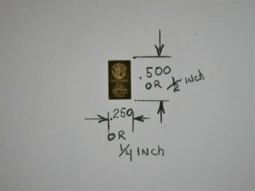1//10 Gram Gold Bar  24K 999.9 Fine Gold Bullion Bar in sealed cert card 26X