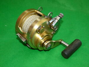 Fin Nor 2 1 2 Big Game Sea Trolling Reel Good Finish In Fine User Collector C Ebay