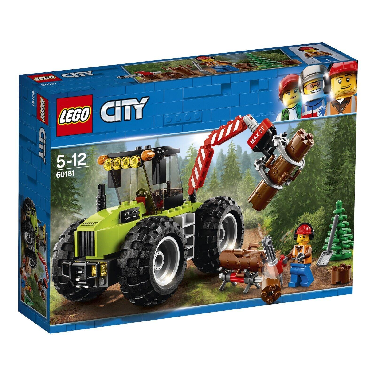 LEGO® City 60181 Forsttraktor NEU OVP_ Forest Tractor NEW MISB NRFB