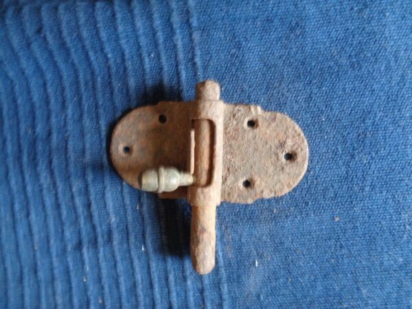 Chiusura Porta Antico Ferro Forge Patina Ruggine I Colori Stanno Colpendo
