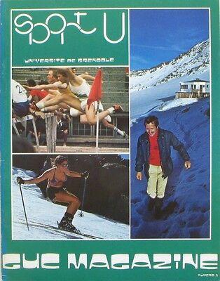 Guc Magazine N°5 - 1976 - Sport U Grenoble - Tabarly à Grenoble - Joubert Voldoende Aanbod