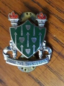 Authentic-US-Army-Armor-School-Ft-Knox-DUI-DI-Unit-Crest-Insignia-9M
