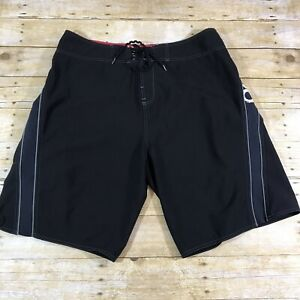 Oneill-Superfreak-Series-Mens-Size-38-Black-Board-Shorts-Swim-Trunks-Beach