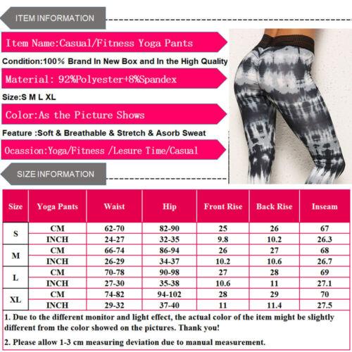 Women Compression Yoga Pants Ladies Skinny High Waist Leggings Sports Trousers