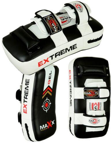 MAXX ® 1 Coppia Thai Kick Boxing Sciopero Curvo Braccio Pad MMA Fuoco Muay Punch Shield Y