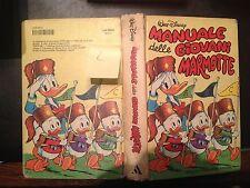 IL 1° MANUALE DELLE GIOVANI MARMOTTE WALT DISNEY I^edizione 10/1969-20^ R.1982-2