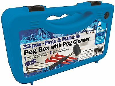 33pc pegs & mallet Campers Kit  - Awning / Camping  / Tent