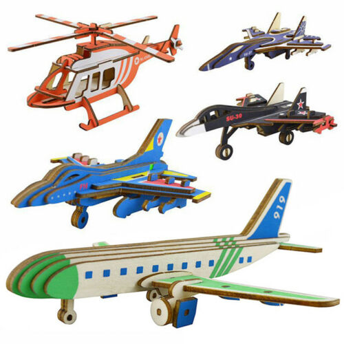 Wooden Puzzle Handmade C919 Passenger Plane Straight 4500 Helicopter Toys Shan