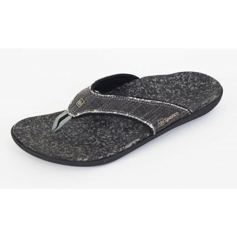 75a12dcdcac Spenco Men s Canvas Yumi Polysorb Total Support Sandals