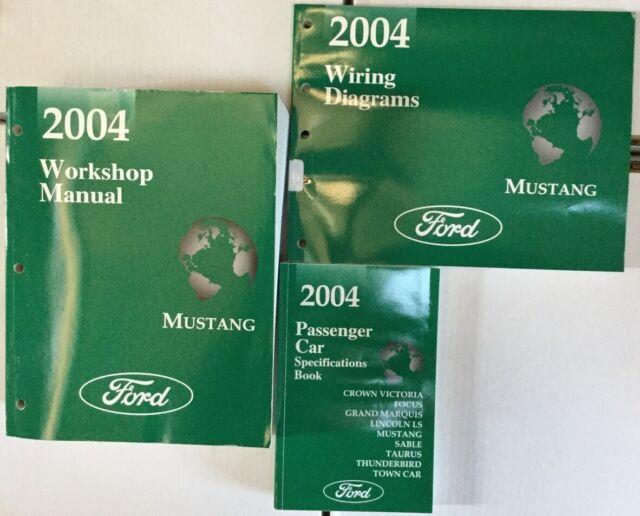2004 Ford Mustang Workshop Manual & Wiring Diagrams ...