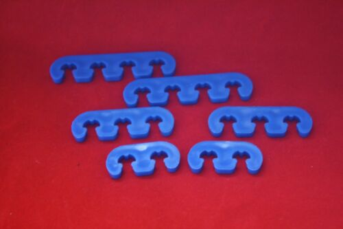 Performance Ignition Spark Plug Wire Looms Separators Blue SBC CHEVY MOPAR FORD