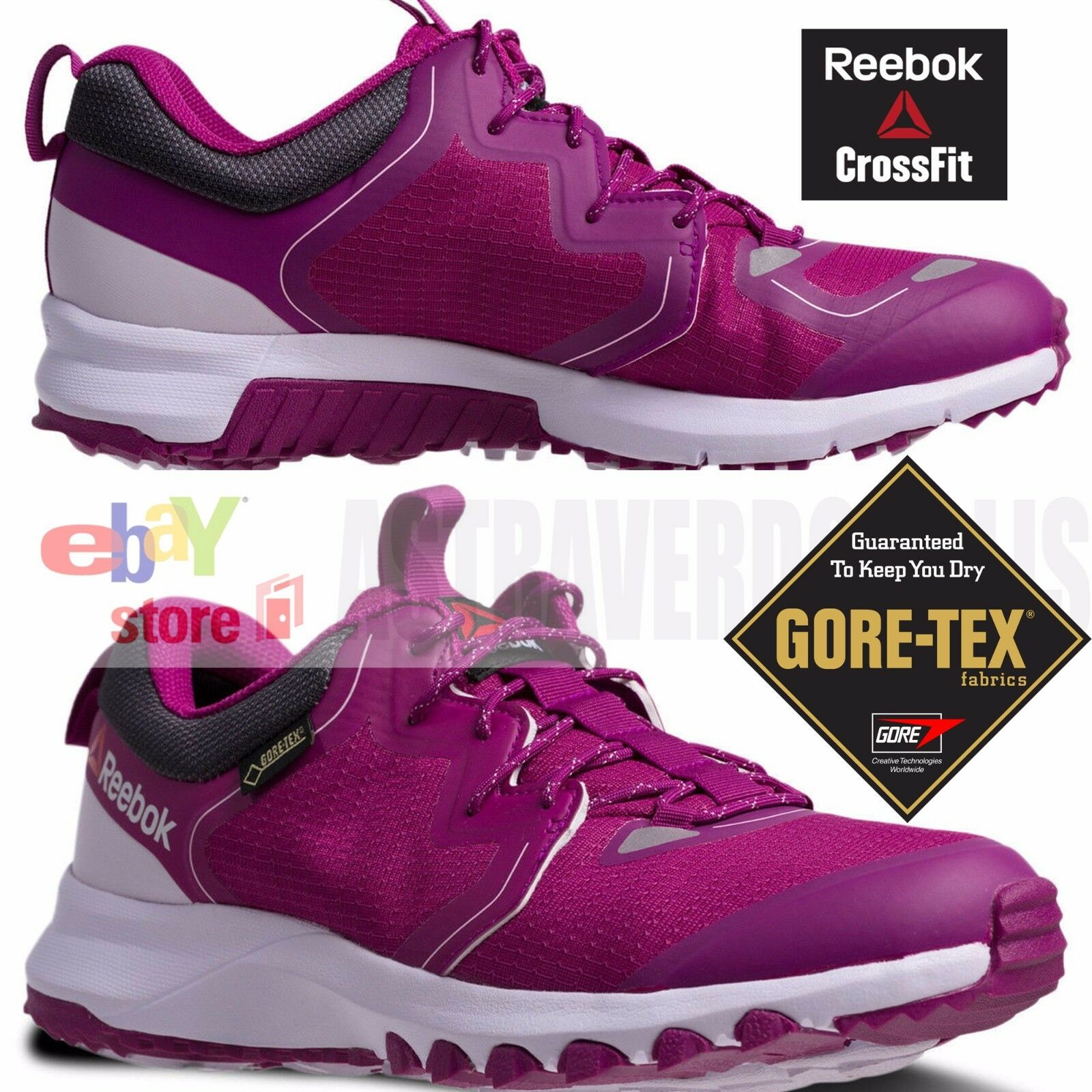 REEBOK femmes Chaussures  GORE TEX EDGE DMX CROSSFIT NANO SIZE US 6.5 8 TRAINING TRAIL