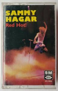 Sammy Hagar Red Hot 1987 Cassette