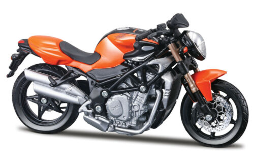 2005 MV Agusta Brutale S Bburago 51030 1:18 Die Cast Orange